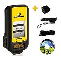 GP-102 G-PORTER (jaune) multi-fonction GPS-enregistreur avec affichage/ kit avec le chargeur 110-240V