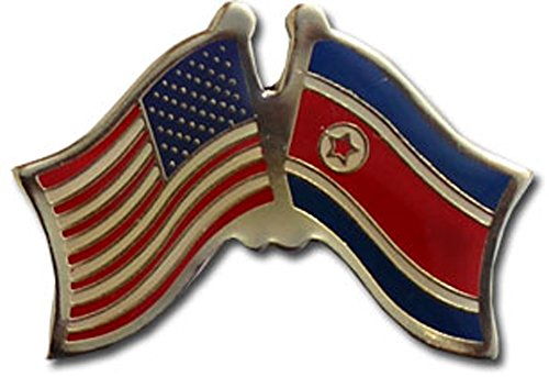 Flag Lapel Korea Pin - Flagline North Korea - Friendship Lapel Pin
