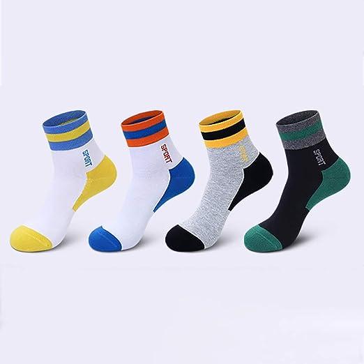 LFY 8 Pares de Calcetines para Hombres 100% algodón, Medias Calcetines de Tubo Calcetines Deportivos engrosados Desodorante Calcetines de Invierno (Color : Mix 1): Amazon.es: Hogar