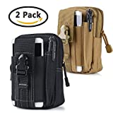 Universal Tactical Waist Belt Bag | Outdoor EDC Military Holster Waist Wallet Pouch Phone Case Gadget Pocket for iPhone X 8 7 6 6s Plus Samsung Galaxy S8 S7 S6 S5 S4 S3 Note 8 5 4 3 2 LG G5 LG HTC