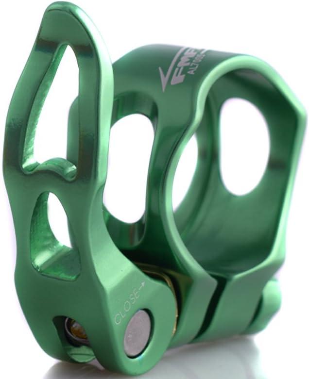 UPANBIKE Aluminum Alloy Bike Seatpost Clamp Hollow Quick Release 31.8mm 34.9mm Tube Clip