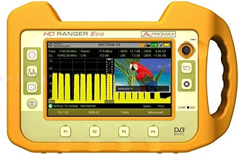 PROMAX HD RANGER Eco: Medidor de campo TV y Satellite