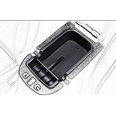 Kaungka Car Center Console Tray Armrest Secondary Glove Storage Box Center Console Organize for 2020 2020 Jeep Compass: Home Improvement