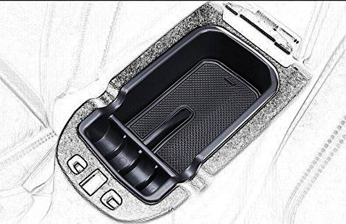 Kaungka Car Center Console Tray Armrest Secondary Glove Storage Box Center Console Organize for 2017 2018 Jeep Compass