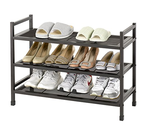 shoe rack bronze - 5