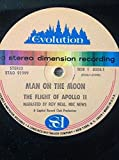 MAN ON THE MOON Flight Of Apollo 11 LP 1969 Roy Neal STAO 91999