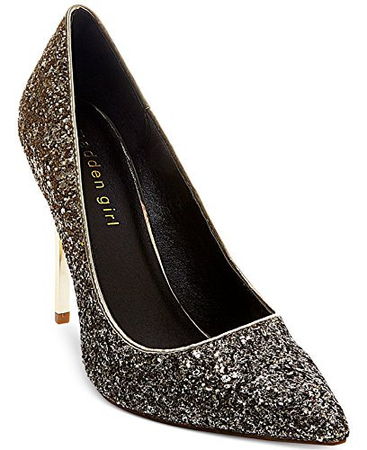 Glitter Pumps Silver Shoes Toe Girl Ohnice Madden 5 Womens Pointed wTXv6q