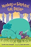 Monkey and Elephant Get Better: Candlewick Sparks (Candlewick Readers (Hardcover))