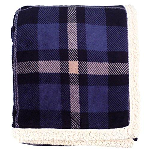 Simplicity Faux Fur Luxury Sherpa Plain Throw Blanket - Hello Kitty Plush Thanksgiving