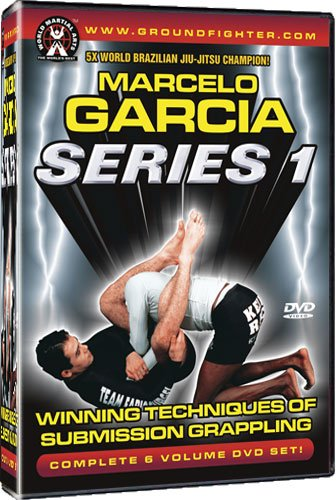 Marcelo Garcia - Series 1: Winning Techniques of Submission Grappling. Instructional Dvds for Brazilian Jiu-jitsu & Gracie Jiu-jitsu