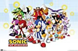 Sonic The Hedgehog - Group 22x34 Art Print Poster Poster Print, 34x22
