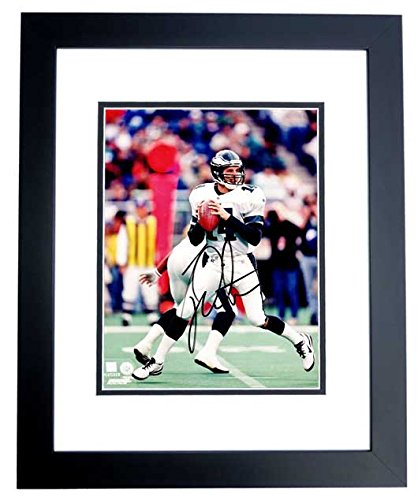 d25188a38 Ty Detmer Signed - Autographed Philadelphia Eagles 8x10 inch Photo BLACK  CUSTOM FRAME - Guaranteed to