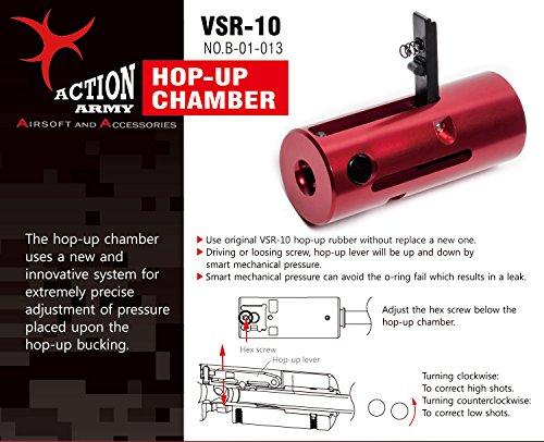 Vsr Spring 10 - Action Army VSR10 Hop Up Chamber Marui VSR10 / G-Spec, JG BAR10, HFC VSR11 Made in Taiwan