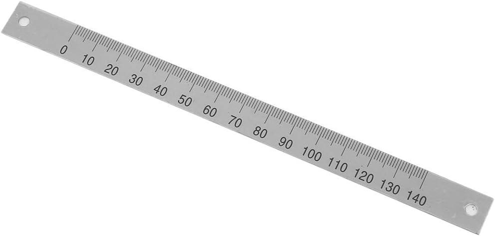 0-140mm Aluminium Selbstklebendes Ma/ßband Gehrungss/ägen Band Gehrungsband Scharnierband