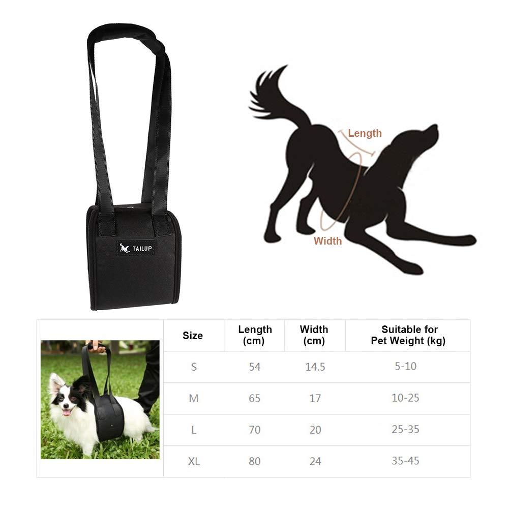 Arn/és de Apoyo y rehabilitaci/ón para Perros M arn/és para Perros y Ayuda Arneses de rehabilitaci/ón con Mango para caninos Ayuda