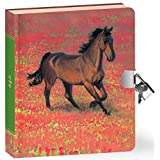 Peaceable Kingdom-Wild Horses-Lock and KeyDiary