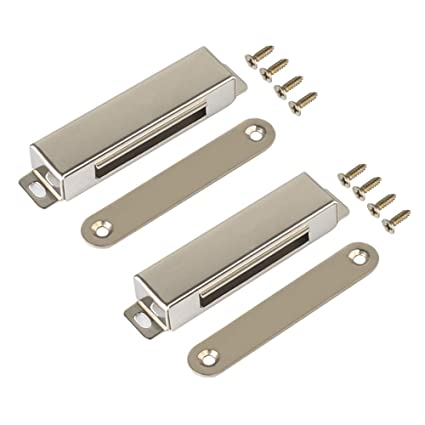 Magnetic Door Catch 60lb High Magnetic Stainless Steel Heavy Duty Catch Cabinet Magnets For Cupboard
