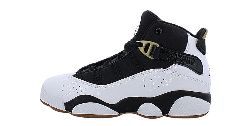 online retailer bcdc6 1173a Amazon.com | Jordan 6 Rings White/Black-Metallic Gold ...