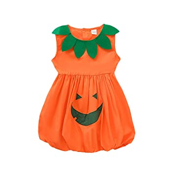 ANY NAME Baby 1st Halloween Pumpkin Spider Vest Outfit Costume Bodysuit NEW BORN