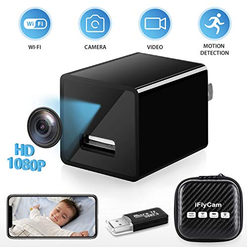 Hidden Camera, WiFi HD 1080P Mini Spy Camera, Wireless Indoor Home Security Nanny Cam with Motion Detection, Live Remote Monitoring, APP Compatible with All Mobile Phone