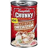 Campbell's Chunky Soup Philly-Style Cheese Steak, 18.8 Ounce (Pack of 12)