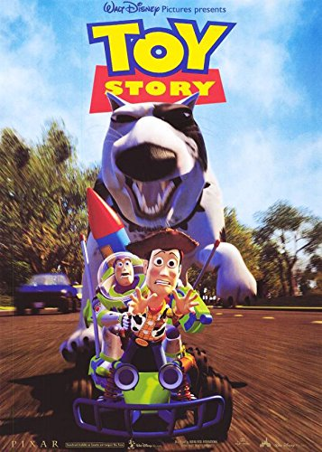 TOY STORY MOVIE POSTER 1 Sided ORIGINAL CHASE 27x40 ()
