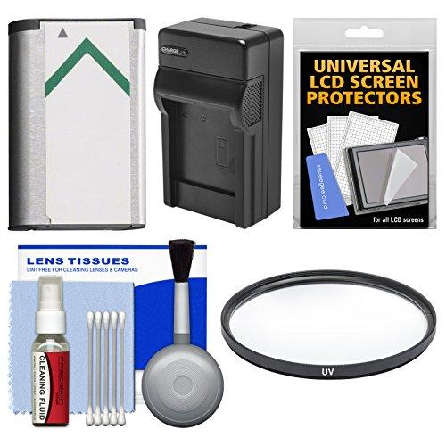 Essentials Bundle for Sony Cyber-Shot DSC-H400, DSC-HX350, & DSC-HX400V Digital Camera with NP-BX1 Battery & Charger + UV Filter + Accessory Kit