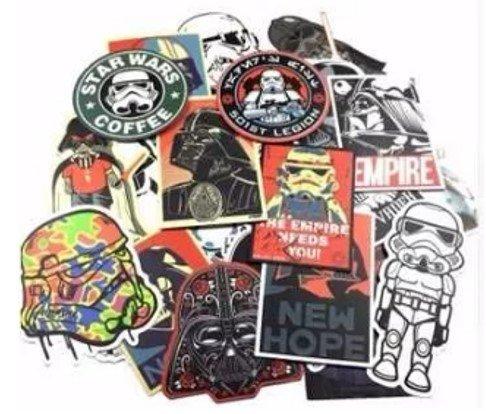 Starwars stickers Calcomanias 25 piezas