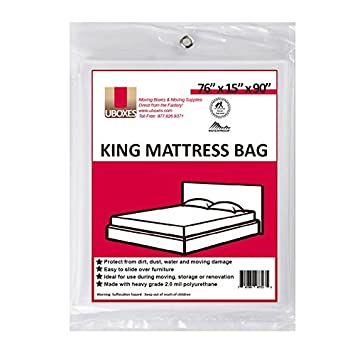King size mattress box for moving