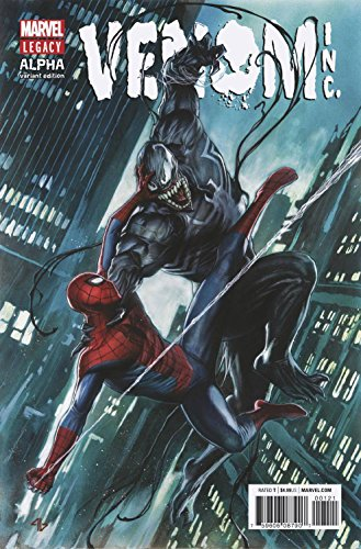 AMAZING SPIDER-MAN VENOM INC ALPHA #1 LEGACY COVER A