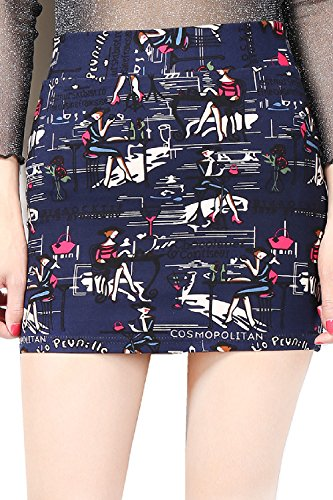 La Flora De Bodycon Mini Falda Clubwear 3