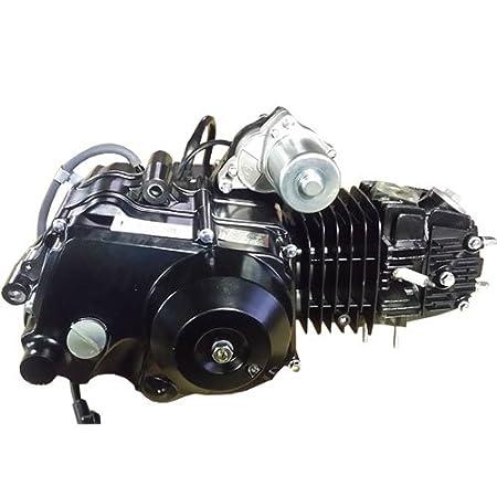 Dune buggys 110cc ATV Engine Motor Semi Auto w/Reverse Electric Start fit  50cc 70cc 90cc 110cc ATVs and Go Karts Quads 4 wheeler go kart Sandrail