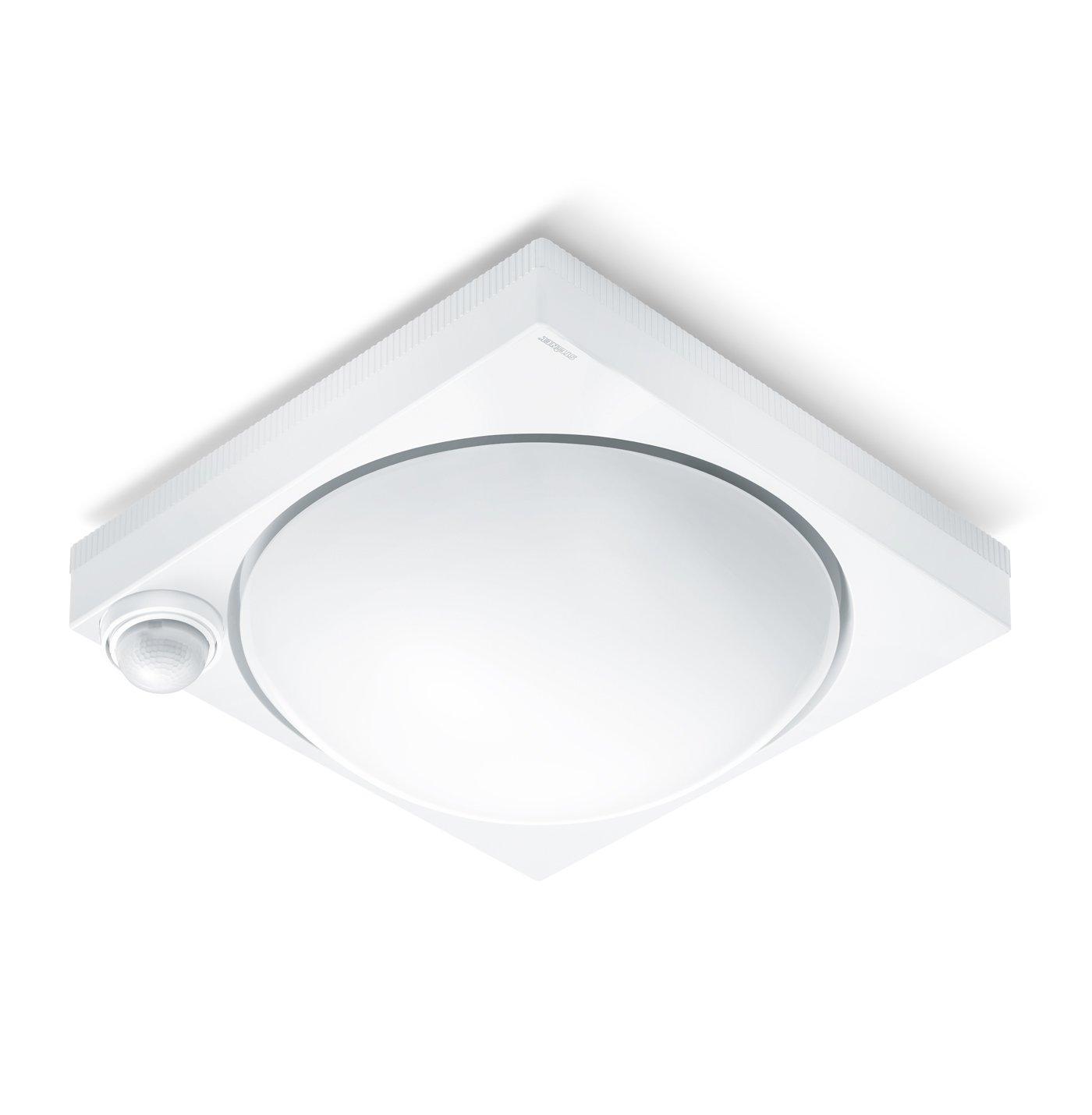 Steinel DL 750 S 650315 - Lámpara sensor de exterior con 360° detector de movimiento y max. 12 m alcance omnidireccional, Iluminación de techo con potencia ...