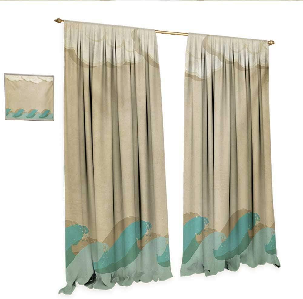 Cortina de tela con diseño oculta para puerta de cristal, símbolo ...