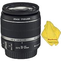 Canon 18-55mm IS Lens (WHITE BOX) + MEGAACC Microfiber Cloth