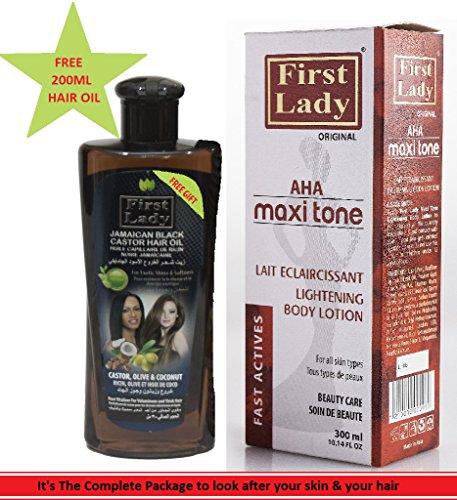 First Lady Premium AHA Maxi Tone Skin Lightening, Brightening & Whitening...