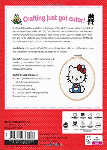 Cross Stitch Creations Hello Kitty: 12 Supercute Patterns