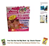 Special Sets : New Formula !! Bio Anne Beautify Bust Pueraria Nature Herbal Bust / Breast Enlargemant Cream 60g + Bust soap 50g...