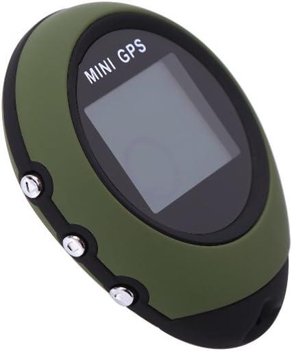 Dilwe Mini GPS Navigation GPS Portable avec cha/îne Kay pour la randonn/ée