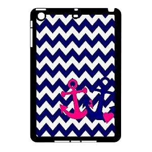 [Tony-Wilson Phone Case] For Ipad Mini Case -IKAI0448455-Retro Vintage Anchor Pattern