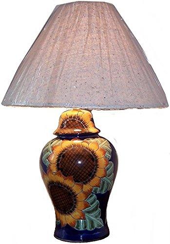 Fine Crafts Imports Sunflower Talavera Ceramic Lamp (Lamps Talavera)