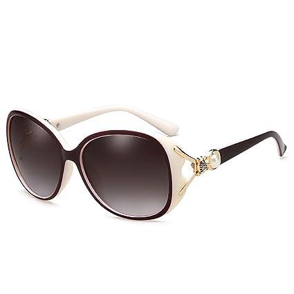 NUBAO Gafas De Sol Femeninas Gafas De Sol Polarizadas Mujer Cara Ultravioleta Cara Larga Cara Cuadrada