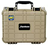 Flambeau Outdoors 1109HD-T HD Series Hard Gun Case, Small-Tan