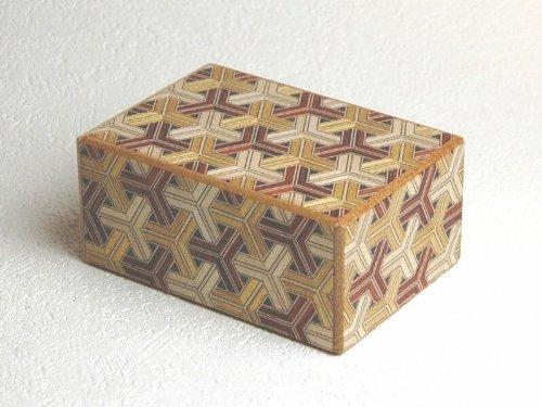 Kikkou Pattern 4 sun - 12 Step Japanese Puzzle Box -