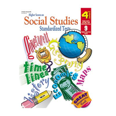 4 Harcourt School Supply - Higher Scores Social Stud. Tests 4