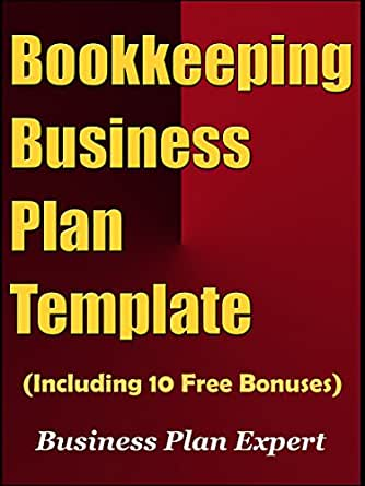 Amazon bookkeeping business plan template including 10 free kindle price 499 friedricerecipe Image collections