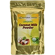 Z Natural Foods Coconut Milk Powder, 100% USDA Certified Organic, 1 lb.