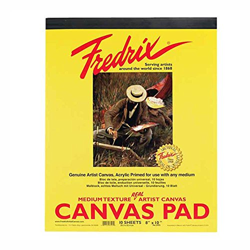 Fredrix 3495 Canvas Pads 10 Inch product image