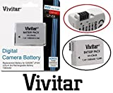Hi Capacity Vivitar LP-E8 Li-Ion Battery for Canon EOS Rebel T5i T4i T3i T2i