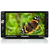 XOMAX XM-2VRSU716BT Autoradio / Radio de coche / Multimedia Player con 18 cm / 7 'Pantalla táctil + Bluetooth manos libres y reproducción de música a través de A2DP +